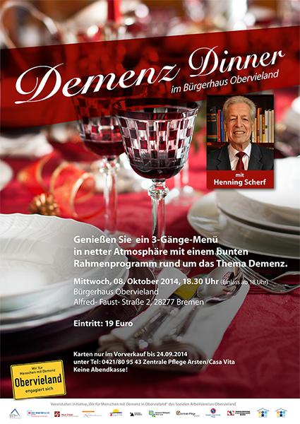 DemenzDinner Plakat 02