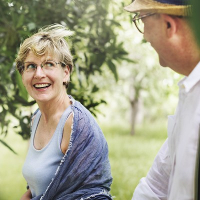 Senior Adult Couple Love Romance Nature Park Concept; Shutterstock ID 387883069; PO: CVN-Webseite